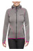 axant W's Anden Fleece Jacket Stone Grey/Fuchsia Red